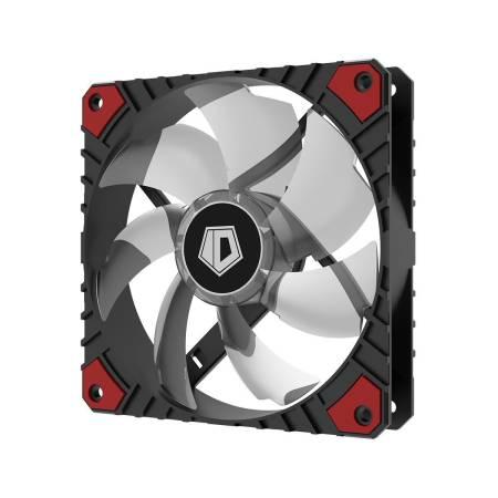 Охлаждащ вентилатор ID-Cooling WF-12025-XT-R 120 мм red LED