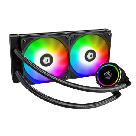 aRGB водно охлаждане за Intel/ AMD процесори ID-Cooling Zoomflow 240X
