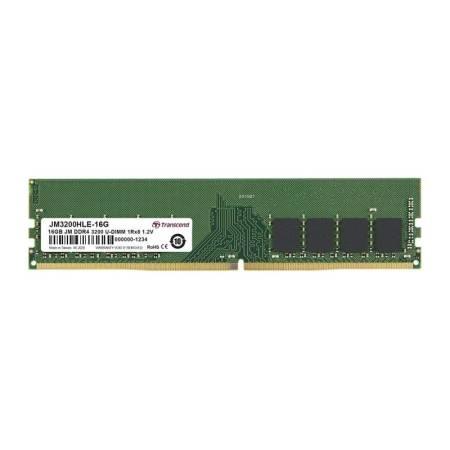 Transcend 16GB JM DDR4 3200Mhz U-DIMM 1Rx8 1Gx8 CL22 1.2V