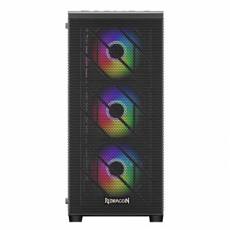 Геймърска кутия за настолен компютър Redragon BliztWing GC-EA215 с прозрачен страничен панел