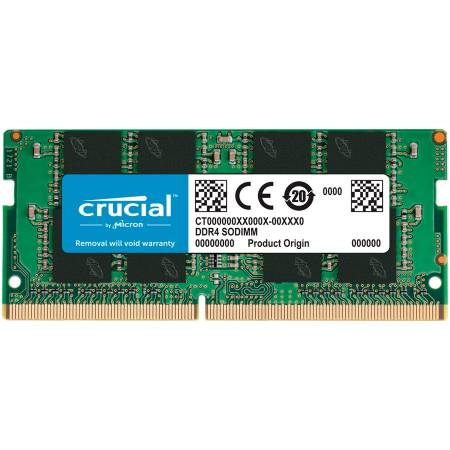Памет за лаптоп CRUCIAL 16GB DDR4 3200MHz SODIMM CT16G4SFRA32A