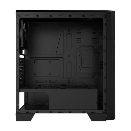 Кутия за настолен компютър Aerocool Cylon CYLON-BG-BK със страничен панел от закалено стъкло ATX mid tower