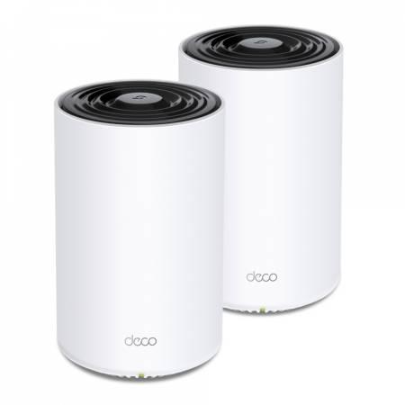 3-лентова безжична Wi-fi 6 Mesh система TP-Link Deco X68 AX3600 (2-pack)