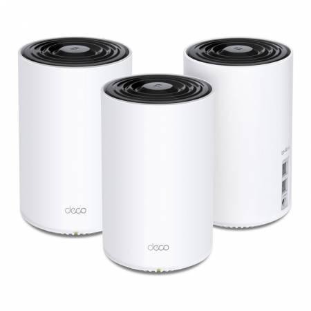 3-лентова безжична Wi-fi 6 Mesh система TP-Link Deco X68 AX3600 (3-pack)
