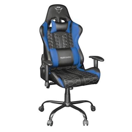 TRUST GXT 708B Resto Gaming Chair Blue