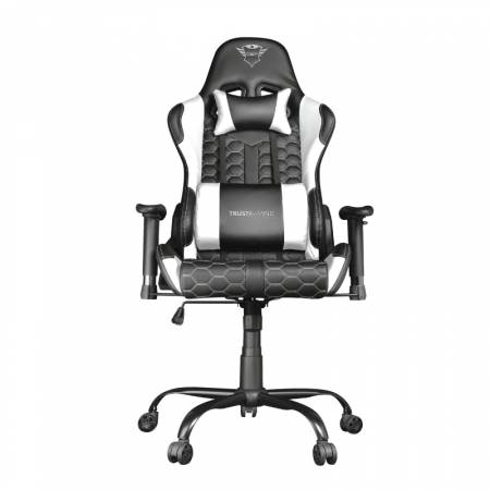 TRUST GXT 708W Resto Gaming Chair White