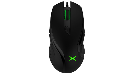 Геймърска мишка Delux M511 черна USB