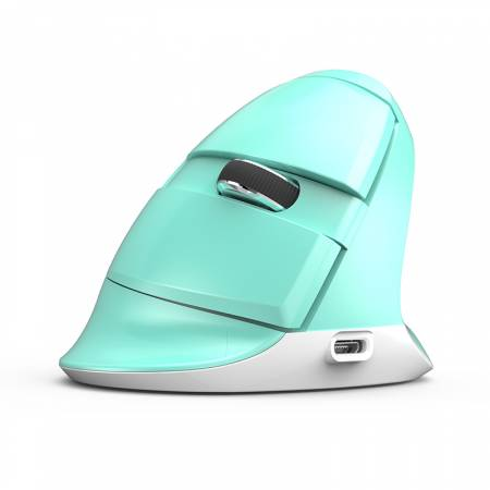 Безжична/Bluetooth мишка Delux M618mini Mint green