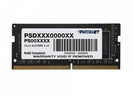 Памет за лаптоп Patriot Signature SODIMM 8GB SC 2666Mhz PSD48G266681S