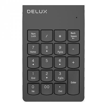 Безжична цифрова клавиатура Delux K300S G