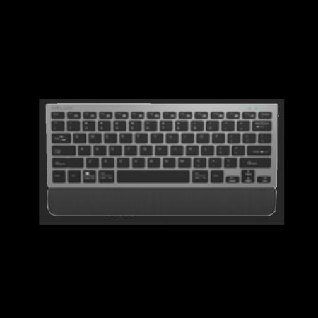 Безжична мултимедийна клавиатура Delux K3300GX черна