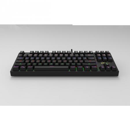 RGB механична геймърска клавиатура Delux KM13UM