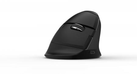 Безжична/Bluetooth вертикална мишка Delux M618mini+G19UF
