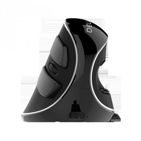 Безжична/Bluetooth вертикална мишка Delux M618PD