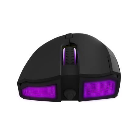 Кабелна/безжична геймърска мишка Delux M625Plus PMW3325