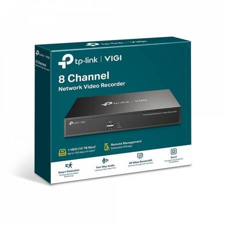 8-канален NVR TP-Link VIGI NVR1008H