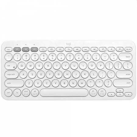 Logitech K380 Multi-Device Bluetooth(R) Keyboard-OFFWHITE-US INT`L-BT-N/A-INTNL