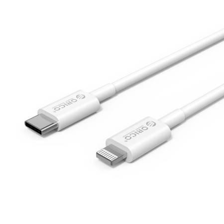 USB Type-C към Lightning кабел Orico CL01-10-WH 1 метър