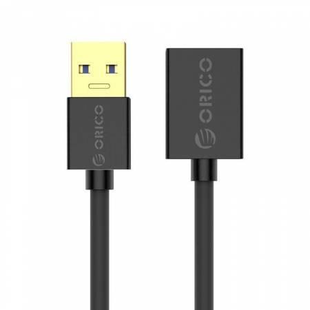 Удължителен кабел Orico U3-MAA01-20-BK USB 3.0 Type-A Male - Female 2 метра