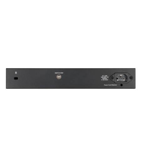 D-Link 8-port Gigabit Managed Switch incl. 2 x SFP