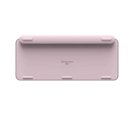 Logitech MX Keys Mini Minimalist Wireless Illuminated Keyboard - ROSE - US Intl