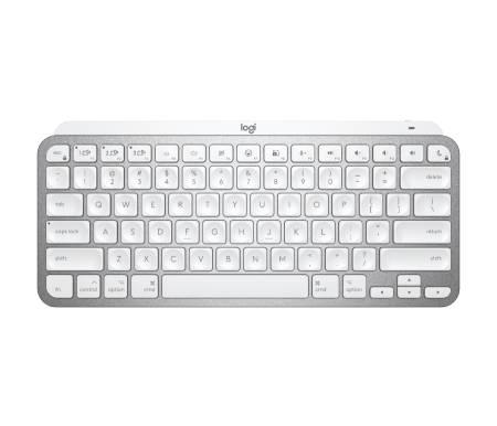 Logitech MX Keys Mini For Mac Minimalist Wireless Illuminated Keyboard - PALE GREY - US Intl - EMEA