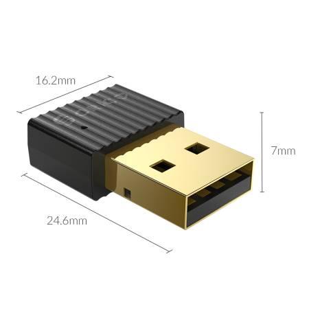 Bluetooth 5.0 USB адаптер Orico BTA-508-BK черен