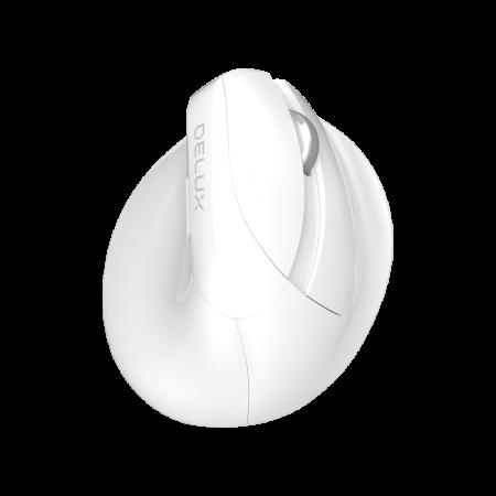 Безжична вертикална мишка Delux M618mini+G27UF