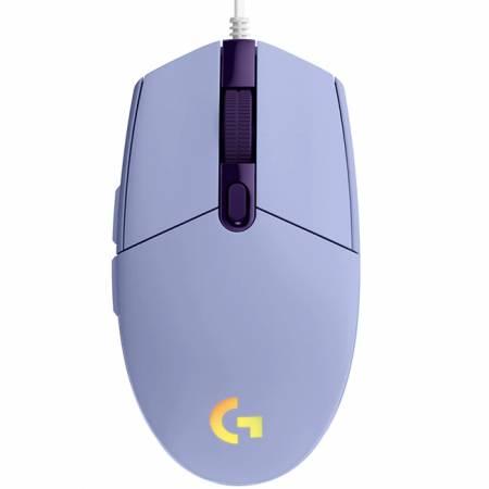 Logitech G203 LIGHTSYNC Gaming Mouse - LIlac - USB - N/A - EMEA - G203 LIGHTSYNC Gaming PC Group
